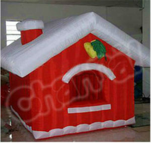 Inflatable Santa Christmas Decoration Bouncer /Inflatable Christmas House pictures & photos