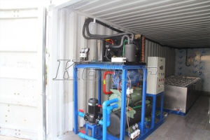 5 Tons Easy-Transportation Containerized Block Ice Machine with Cold Room pictures & photos