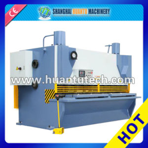 QC11y Hydraulic Guillotine Shearing Machine with CNC E21 System pictures & photos