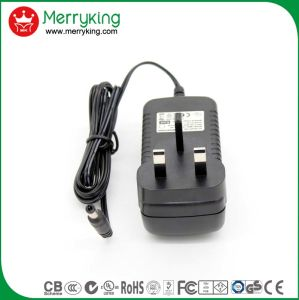 12V3a AC/DC Power Adaptor White UK Plug pictures & photos