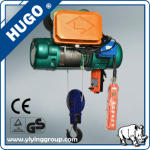 CD1 2t 12m Electric Wire Rope Hoist pictures & photos