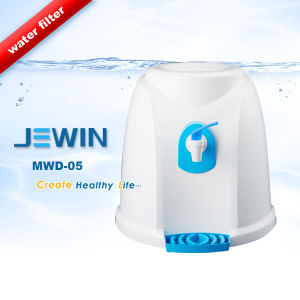 Portable Plastic 5 Gallon Manual Water Dispenser pictures & photos