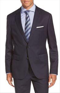 OEM Custom Design Classic Fit Men′s Coat Pant Suit pictures & photos