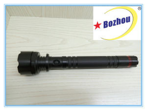 Long Range Brightest 3-Mode Rechargeable Flashlight Torch pictures & photos