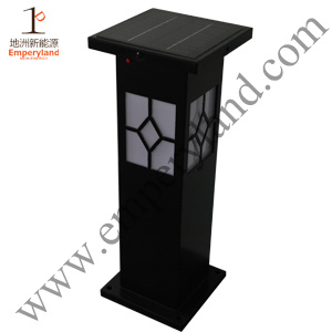 Iron Bollard 1W Solar Lawn Light (DZ-CT-204) pictures & photos