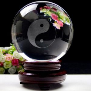 Home Decoration Custom Crystal Glass Ball (KS2014003) pictures & photos