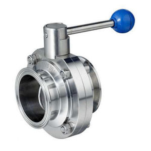 ISO Sanitary Threaded Butterfly Valve pictures & photos