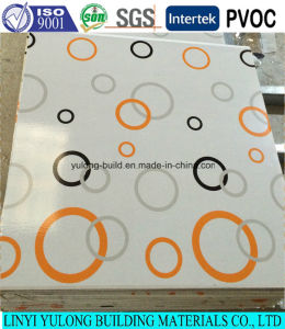 Colorful PVC Gypsum Board Ceiling Tile for Ceiling pictures & photos