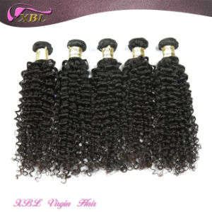 No Chemical Kinky Curly 100% Human Peruvian Virgin Hair pictures & photos