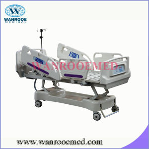 BAE517EC ICU Hospital Bed with Translational Side Rails pictures & photos
