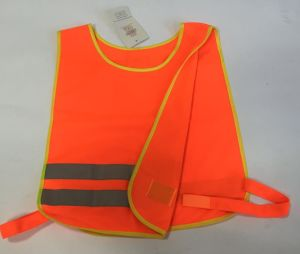 High Visibility Reflective Safety Vest for Kids with Elastic Tape pictures & photos