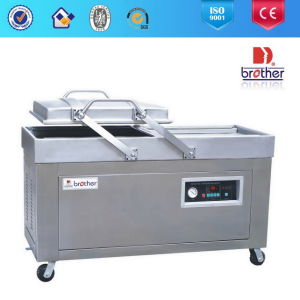 Brother Hot Sale Stainless Steel Dz Double Chamber Vacuum Packaging Machine pictures & photos
