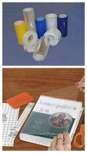 Transparent Vinyl Adhesive PVC Film pictures & photos