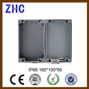 160*100*60 mm Newest IP66 Aluminum Waterproof Switch Box / Junction Enclosures with RoHS Approval pictures & photos