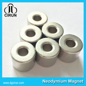 N52 Strong Permaennt Sintered Neodymium Ring Magnet pictures & photos