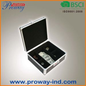 Portable Cash Storage Box, Metal Money Box (C-250MAB) pictures & photos