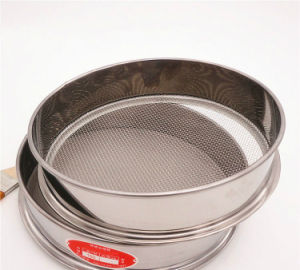 Stainless Steel Woven Mesh/Perforated Sheets Laboratory Standard Test Sieve pictures & photos