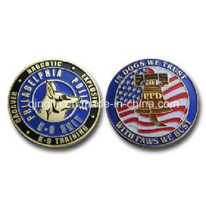 Customize Sacrificed Police Gog Metal Souvenir Coin (QL-SMB-0017) pictures & photos