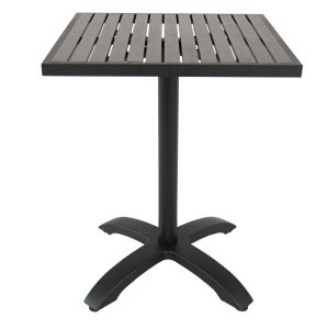 Commercial Grade Outdoor Aluminum/Alloy Dining Table (ST-07004) pictures & photos