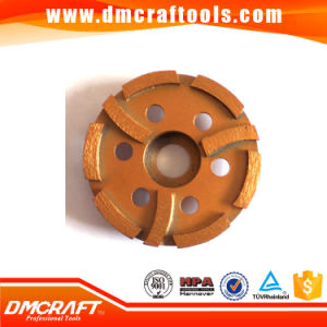 Diamond Vitrified Diamond Grinding Wheel Cup Shaped Grinding Wheels pictures & photos