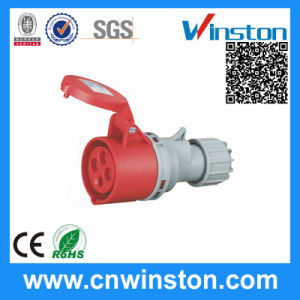 Wst-526 4pin High-End Type Industrial Waterproof Connector with CE pictures & photos