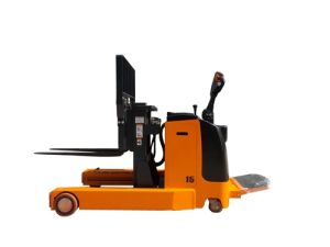 Electric Reach Stacker with Low Mast pictures & photos