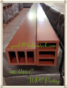 90*40mm Hollow WPC Pergolas Pedestal Outdoor Landscape Decoration WPC pictures & photos