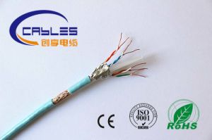 Hot Sale SFTP Cat5e Cable pictures & photos