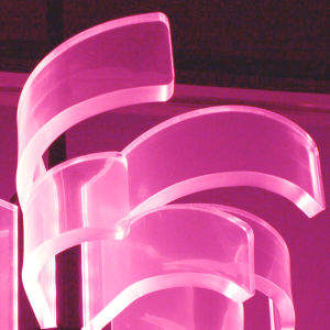 Scattering Light Guide Acrylic Sheet for LED Decorative Lignhting