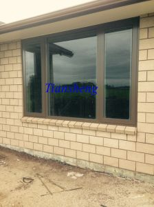 Aluminium Casement Window with Double Glazing pictures & photos