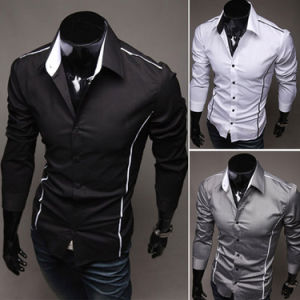 2017 Fashion Style Custom Cotton Dress Shirts (A445) pictures & photos