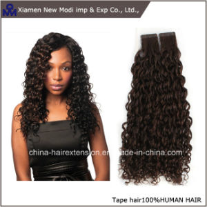 Brazilian Human Hair Curly Tape Extensions