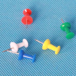 Thumbtack Coloured Plastic Push Pin Decoration (QX-P002A) 9*23mm pictures & photos