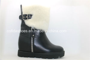 OEM High Heels Warm Women′s Snow Boots pictures & photos