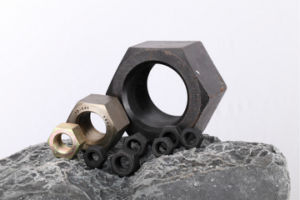 Heavy Hex Nuts (M12-M64 Cl. 10 Carbon Steel Hardware DIN6914) pictures & photos