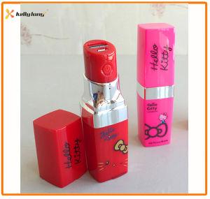 2400mAh Fashion Lipstick Backup Battery Power Bank