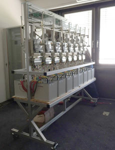 Energy Meter Test Bench Double Side Type with Ict pictures & photos