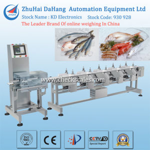 Waterproof Weight Sorting Machine for Seafood/Fish pictures & photos