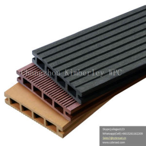 Hot Sale Anti-Slip Fire-Resistant WPC Solid Decking Board pictures & photos