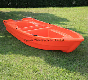 Popular PE Boat 3.6m Lake Fishing Plastic Boat for 6 Persons pictures & photos
