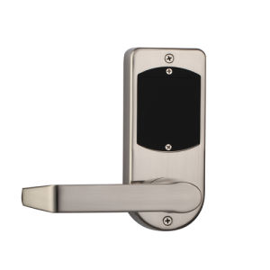 Safewell Stainless Steel Color Fingerprint Lock with Emergency Key for Office or Apartment pictures & photos