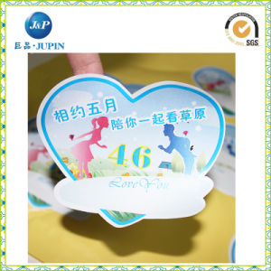 High Quality Oval PVC Bumper Sticker Printing for Car Sticker (JP-S162) pictures & photos