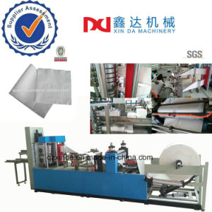 High Speed Dinner Serviette Tissue Printer Napkin Embossed Folding Processing Machine for Sale pictures & photos