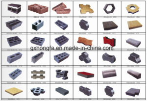 Cement Automatic Paver Brick Making Machine pictures & photos