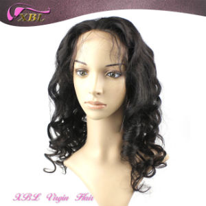 Virgin Indian Human Hair Full Lace Wig with Baby Hair pictures & photos