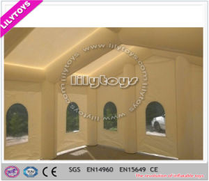 Beautiful White Color Inflatable Wedding Tent for Rent pictures & photos