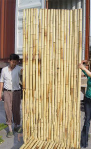 Artificial Colored Fire Retardant Bamboo Fence pictures & photos