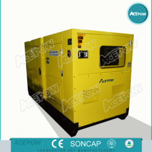 Single Phase 60Hz 100kVA Cummins Soundproof Diesel Generator pictures & photos