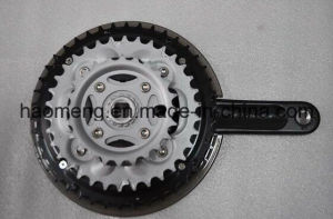 2016new Style Black Steel Bicycle Chain Wheel pictures & photos