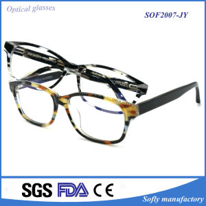 China Factory Price New Style Prescription Acetate Spectacle Frame Glasses pictures & photos